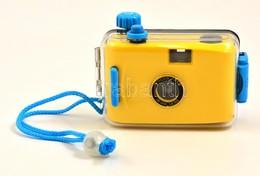 Víz Alatti Fényképezőgép, Filmes, 28 Mm Objektívvel, Műanyag Védőtokban, Jó állapotban - Cameras