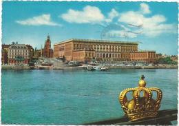 V2813 Stockholm . Hungl Slottet / Viaggiata 1968 - Svezia