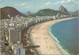 V2814 Brasil - Rio De Janeiro - Capocabana - Vista Aerea Aerial View Vue Aerienne / Viaggiata 1985 - Copacabana