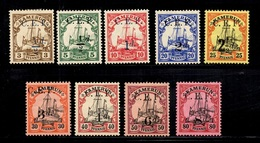 Cameroun Allemand Occupation Anglaise YT N° 25/33 Neufs *. B/TB. A Saisir! - Colonie: Cameroun