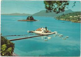 V2815 Kepkyra Corfu Corfou - Ponticonissi - Panorama / Viaggiata 1970 - Grecia