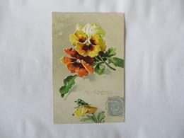 PENSEES RELIEF AMITIE SINCERE 1905    C. KLEIN  P. F.  B SERIE 1882 GRUPPE 10 - Klein, Catharina