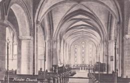 MINSTER CHURCH INTERIOR - England