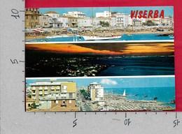 CARTOLINA VG ITALIA - VISERBA DI RIMINI - Vedutine Multivue - 10 X 15 - ANN. 1971 - Rimini