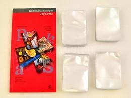 200 Db új Telefonkártya Tok + Telefonkártya Katalógus 1991-1998 - Unclassified
