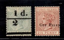 Turk Et Caïques YT N° 29 Et 30 Neufs *. B/TB. A Saisir! - Turks & Caicos (I. Turques Et Caïques)