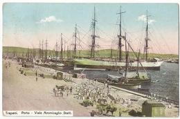 Trapani Porto Viale Ammiraglio Staiti #Cartolina #Paesaggi - Trapani