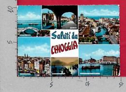 CARTOLINA VG ITALIA - Saluti Da CHIOGGIA (VE) - Vedutine Multivue - 10 X 15 - ANN. 1972 - Saluti Da.../ Gruss Aus...