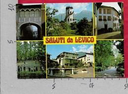 CARTOLINA VG ITALIA - Saluti Da LEVICO (TN) - Vedutine Multivue - 10 X 15 - ANN. 1985 - Saluti Da.../ Gruss Aus...