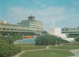 Tokyo Japan International Airport, Terminal Building With Autos Parking In Front, C1960s/70s Vintage Postcard - Aerodromes