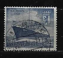 "BERLIN - Mi-Nr. 127 Taufe Des Motorschiffes ""Berlin"" Gestempelt (2) - Berlin (West)"