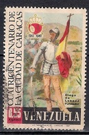 Venezuela 1967 -  Airmail - The 400th Anniversary Of Caracas - Venezuela