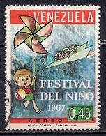 Venezuela 1967 - Airmail - Children's Festival - Venezuela