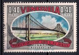 Venezuela 1967 - Airmail - Opening Of Angostura Bridge, Orinoco River - Venezuela