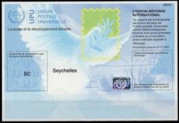 SEYCHELLES  Is40  20170802 AA International Reply Coupon Reponse Antwortschein IAS IRC Hologram Mint ** - Seychellen (1976-...)