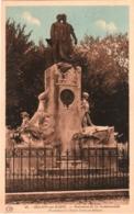 CPA 51 (Marne) Châlons - Monument De La Rochefoucault, Fondateur De L'Ecole D'Arts Et Métiers TBE Couleur - Châlons-sur-Marne