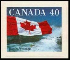 Canada (Scott No.1193 - Drapeau / Flag) (**) Autocollant / Self Adhesive - 1952-.... Règne D'Elizabeth II