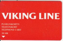 FINLAND - Viking Line, M/s GABRIELLA, Turun Puhelin Telecard, CN : 7030, Tirage 4540, Exp.date 12/98, Used - Finland