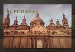 INMOBILIARIA EL RABAL. IMAGEN CATEDRAL - BASÍLICA DEL PILAR - ZARAGOZA - ESPAÑA. - Tarjetas De Visita