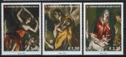 SMOM 2012 Sass.1124/26 MNH/** VF - Malte (Ordre De)