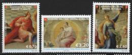 SMOM 2013 Sass.1160/62 MNH/** VF - Malte (Ordre De)