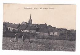 Montaigu.39.Jura.Vue Générale (côté Est).Carte Signée Pignier. - Altri Comuni