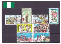 Nigeria 1986 - Oblitéré / MNG - Culture - Nature - économie - Michel Nr. 476-479 A480 484-486 (wan110) - Nigeria (1961-...)