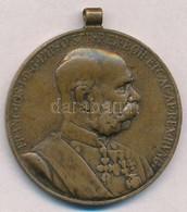 1898. 'Jubileumi Emlékérem Fegyveres Erő Számára / Signum Memoriae (AVSTR)' Br Kitüntetés  Mellszalag Nélkül T:2,2-  Hun - Coins & Banknotes
