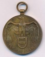 Ausztria 1932. 'Háborús Emlékérem 1914-1918' Br Kitüntetés Mellszalag Nélkül T:2 Austria 1932. 'Great War Commemorative  - Coins & Banknotes