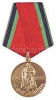 Szovjetunió 1965. 'A Nagy Honvédő Háborúban Aratott Győzelem 20. évfordulója' Sárgaréz Kitüntetés Mellszalagon (32mm) T: - Coins & Banknotes