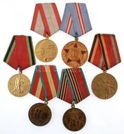 6db-os Vegyes Szovjet Kitüntetés Tétel, Közte '50,60,70 éves A Szovjet Fegyveres Erők'; 'A Nagy Honvédő Háborúban Aratot - Coins & Banknotes