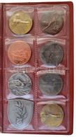 32db-os Vegyes Magyar és Külföldi érme, Emlékérem és Sportérem Tétel Albumba Rendezve, Közte 1947. 5Ft Ag 'Kossuth',  Il - Coins & Banknotes