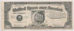 Amerikai Egyesült Államok 1969. 'Hold Pénz' Ajándék Bankjegy Az Apollo 11 Emlékére + Olaszország DN 'Fiabilandia' 50c Ut - Coins & Banknotes