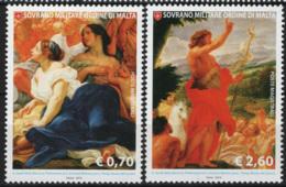SMOM 2014 Sass.1199/200 MNH/** VF - Malte (Ordre De)
