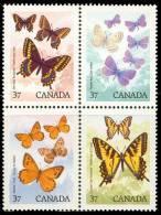 Canada (Scott No.1213a -Papillons / Butterflys) (**) - 1952-.... Règne D'Elizabeth II