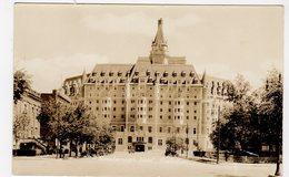SASKATOON, Saskatchewan, Canada, Bessborough Hotel, Masonic Bldg, I. O. O. F,  1937 RPPC - Saskatoon