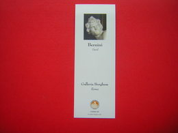 MARQUE PAGE / PAGES ??? FORMAT 6 X 17 CM BERNINI DAVID  SCULPTURE GALLERIA BORGHESE ROMA - Bookmarks