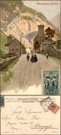CARTOLINE - REGIONALISMO-SVIZZERA - Sempione - Gondo - Cartolina Illustrata Viaggiata 1905 - Stamps