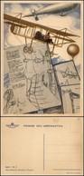 """CARTOLINE - AVIAZIONE - Pionieri Dell'Aeronautica - """"Dal Precursore Leonardo…."""" - Nuova FG - Stamps"""