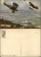 CARTOLINE - AVIAZIONE - Arma Aeronautica - Aeroplani In Picchiata Bombardano E Lanciano Messaggi (N.033) - Nuova FG (25) - Stamps