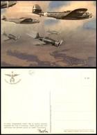 CARTOLINE - AVIAZIONE - Arma Aeronautica - CZ 1000 E MC 200 In Volo (N.038) - Illustratore D'Ercoli Manlio - Nuova FG (3 - Stamps