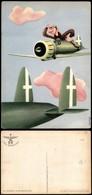CARTOLINE - AVIAZIONE - Arma Aeronautica - Umoristica Aviatore A Cavalcioni Di Un Caccia (N.051) - Nuova FG (25) - Stamps