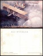 CARTOLINE - AVIAZIONE - Un Caproni In Volo - Ali D'Italia - Nuova - Stamps