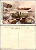 CARTOLINE - AVIAZIONE - Quinta Brigata Aviazione D'assalto - Aeroporto Ciampino Sud - Illustrata Ferrari - Nuova FG - Stamps