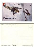 CARTOLINE - AVIAZIONE - I° Stormo Caccia - Illustratore Pisani - Nuova FG (35/50) - Stamps