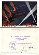 """CARTOLINE - AVIAZIONE - 8° Stormo """"Ubscurius Ut Clarius"""" - Illustratore Paschetto Paolo - Timbro Al Verso """"R.Aeroporto D - Stamps"""