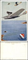 CARTOLINE - AVIAZIONE - Stormo Misto Egeo (V) Lero - Illustratore Ferrari G. - Nuova FG (35/70) - Stamps