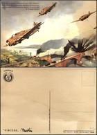 CARTOLINE - AVIAZIONE - BA. 65 Che Bombardano Ponti - Frase D'Annunzio - Nuova FG (25) - Stamps
