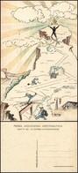 CARTOLINE - AVIAZIONE - R.Accademia Aeronautica MAK P100 - XI Corso Integrazione - Illustratore Monge - Nuova (30) - Stamps