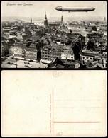 CARTOLINE - AVIAZIONE - Zeppelin Su Dresda - Nuova - Stamps